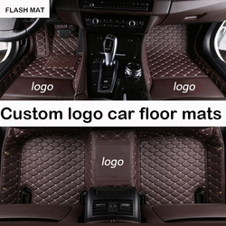 Custom LOGO auto vloermatten voor ssangyong alle modellen ssangyong actyon ssangyong korando rexton auto accessoires