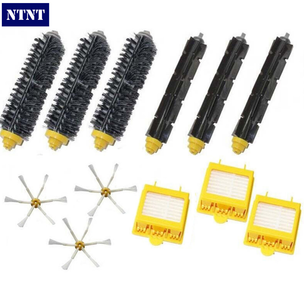NTNT Free Post new Hepa Filters & Brush Pack Kit 6 Armed For iRobot Roomba 700 Series 760 770 780 ntnt free post new replace 2 pack brush filter mini kit for irobot roomba 700 series 760 770 780