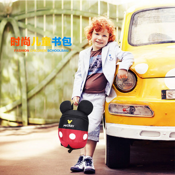Disney Baby rugzak 1-3 jaar oude kind tas Leuke cartoon mickey Minnie jongens en meisjes baby kleuterschool zak met anti-verloren rope