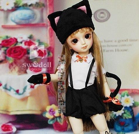 1/6 bjd clothes cute cat patten
