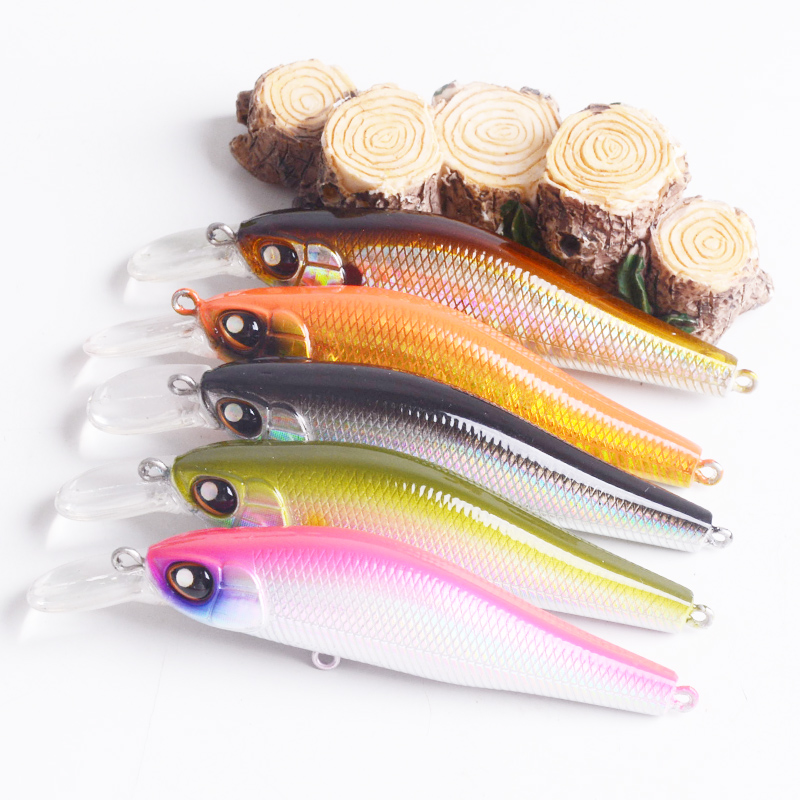 Fishing Lure 5.1g 7.5cm Hard Bait Minnow Spinner Baits Artificial Lures fly fishing Wobbler Lifelike floating accessories pesca mmlong 12cm realistic minnow fishing lure popular fishing bait 14 6g lifelike crankbait hard fish wobbler tackle pesca ah09c