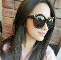 Venta caliente Del Nuevo Del Diseñador Mujeres Gafas Inspirado Gafas de Sol de Las Mujeres de Gran Tamaño gafas de Sol de Celebridades 5025
