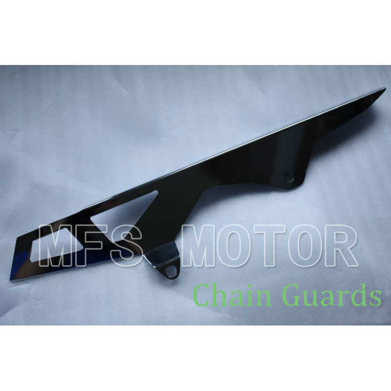 motorcycle parts Chain Guards for Suzuki 2006 2007 2008 2009 2010 GSXR 600 750 GSX-R CHROME aftermarket free shipping motorcycle parts for motorcycle 2006 2007 suzuki gsxr 600 750 2005 2008 gsx r 1000 chrome