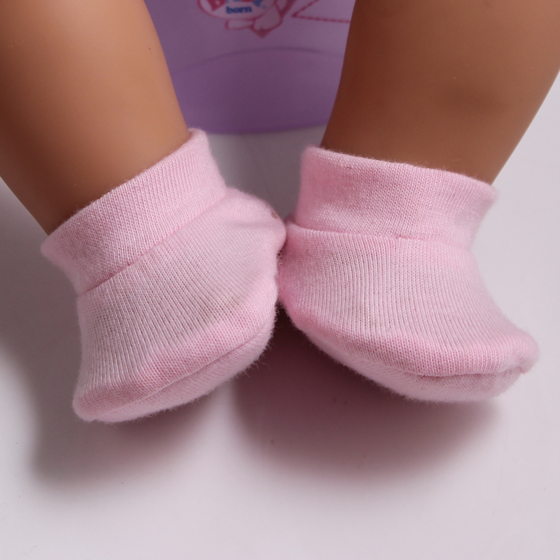New Arrival Cute Pink Shoes For 43cm Doll Baby Born Zapf Baby Doll Accessories Shoes As10