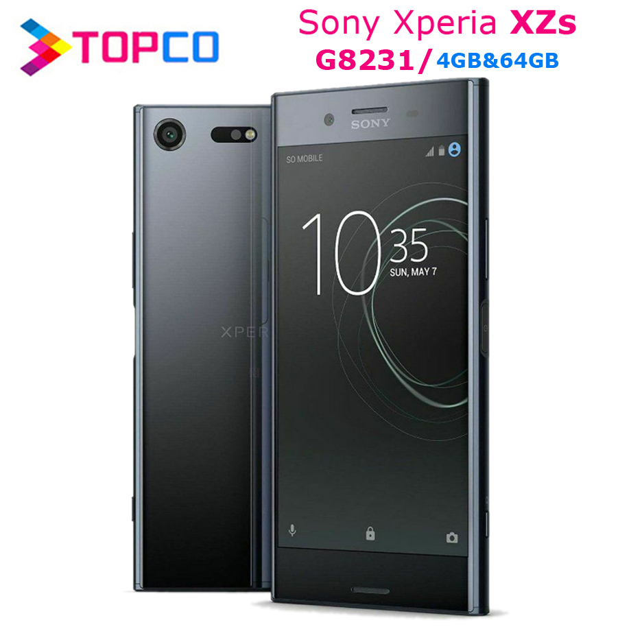Sony Xperia XZs G8231 Original Unlocked 4G LTE Android Mobile Phone Quad Core 5.2