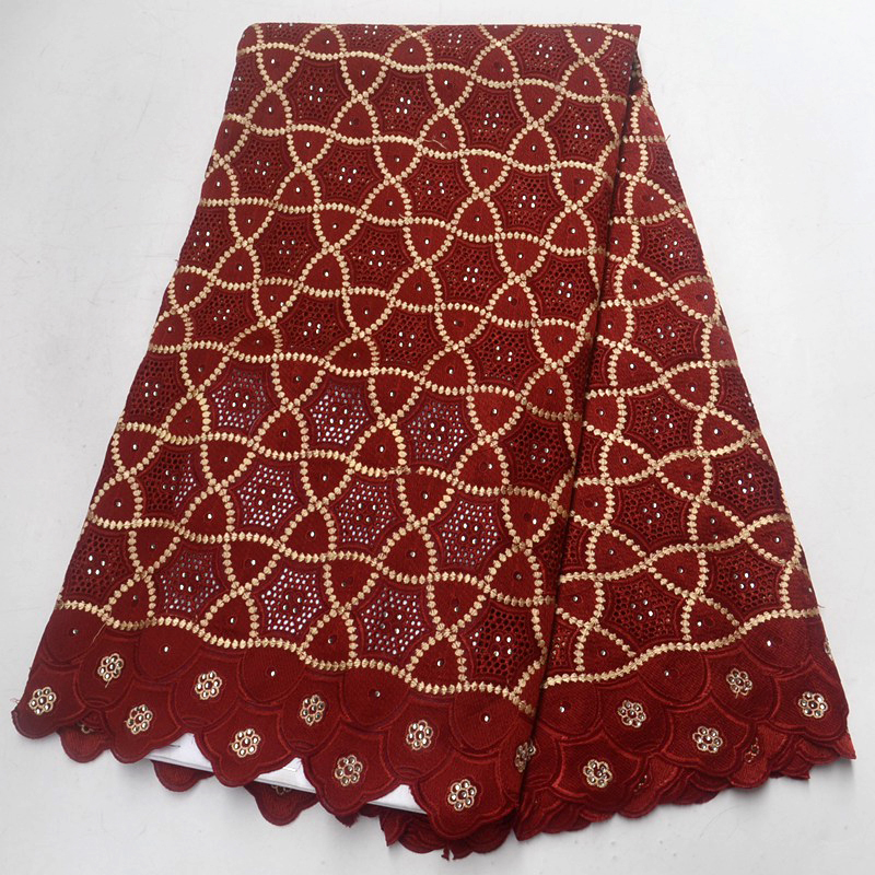 Best Quality African Lace Fabric Wine Swiss Voile Lace High Quality Emboridery Cotton French Mesh Lace Fabric Material Best Quality African Lace Fabric Wine Swiss Voile Lace High Quality Emboridery Cotton French Mesh Lace Fabric Material