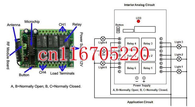1000M 6CH 12 Volt Wireless Remote Control Switch ON OFF DC 12V ... on 12 volt horn wiring diagram, 12 volt 3 way switch diagram, boat wiring diagram, 8n 12 volt wiring diagram, 12v led turn signal wiring diagram, 12 volt switch repair, 12 volt camper wiring diagram, 12 volt dc to 24 volt dc wiring diagram, 11 pin timer wiring diagram, 12 volt toggle switch wiring, 12v relay diagram, 12 volt relay wiring diagrams, 12 volt switch installation, basic ignition wiring diagram, on off on toggle switch diagram, trans am wiring diagram, 12 volt starter wiring diagram, farmall 12 volt wiring diagram, 12 volt marine wiring diagram, 12 volt switch cover,