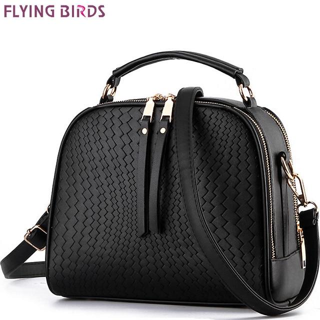 85838f50eafd FLYING BIRDS! women leather handbag brand women bags messenger bags  shoulder bag leather handbags women s