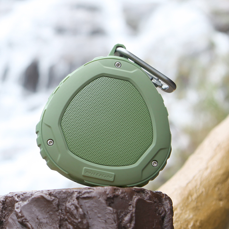 Portable Subwoofer Shower Waterproof Wireless Bluetooth Speaker Car Handsfree Receive Call Music Suction Mic For iPhone