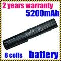 Jigu 8 qualidade de células da bateria do portátil para hp pavilion dv7 480385-001 hstnn-ib75 hstnn-db75