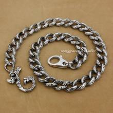 14″ ~ 36″ 316L Stainless Steel Dragon Claw Mens Biker Rocker Punk Wallet Chain 5C016WC 7D9+3P3