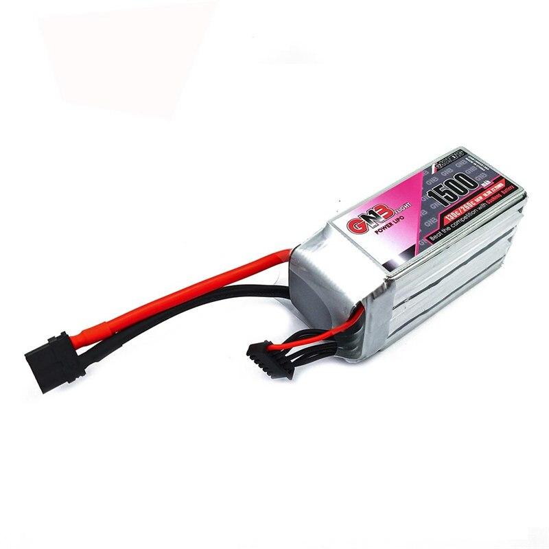 Hot New Gaoneng GNB 18.5 V 1500 mAh/1300 mAh 130C/260C 5S Lipo Batterie W/XT60 Plug Connecteur Pour RC Modèles Multicopter les saf