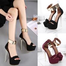 Super sexy womens high heel sandals new open toe matte suede shoes sequins zipper stiletto