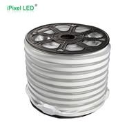 AC220V Led Flexible Neon Strip Light SMD 2835 White Led Neon Flex Rope Light 50m Roll