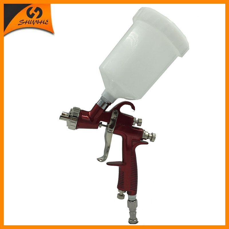 цена на SAT0090 Paint Gun Automotive Pneumatic Car Spray Painting Gun HVLP Professional Manual Hand Paint Gun Airbrush Car Spray Gun