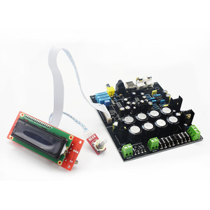 Image 4 - Lusya AK4490 DAC decoder board without USB daughter card  AK4118 receiver with NE5532 op Soft control  D3 003