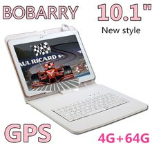 BOBARRY 10.1 inch S106 4G Phone Call SIM card Android 6.0 Octa Core CE Brand WiFi GPS FM Tablet pc 4GB+64GB Anroid 6.0 Tablet Pc
