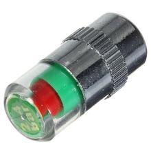 4Pcs Car Tire Monitor Valve Dustproof tire valve caps air cover Tyre Pressure Indicator Sensor Eyes Alert Wheel Accessories недорого