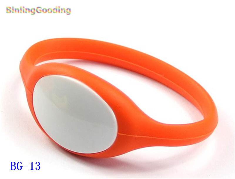 Bg-13 100pcs/lot 13.56mhz Mf Classic 1k S50 F08 Nfc Wristband Bracelet Ic Card For Swimming Pool Sauna Room Gym Access Control Cards