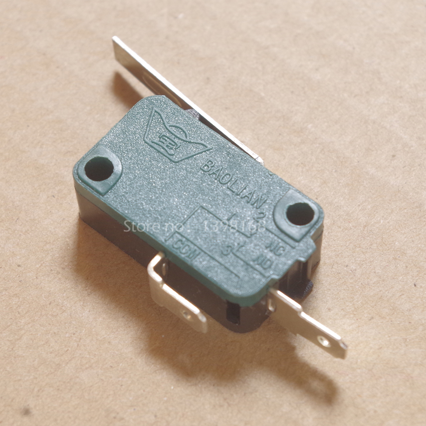 10 шт. microswitch концевой выключатель 2Pin n/o n/c микро-переключатель с чипом для аркада кнопку джойстика запчасти/baolian Бесплатная доставка