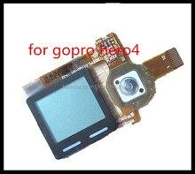 НОВЫЕ HD Gopro Hero4 hero 4 lcd Фюзеляжа Gopro4 переднего ЖК-ДИСПЛЕЯ hero4 жк-Дисплей hero4 Камеры Экран ЖК-ДИСПЛЕЙ Запчасти Ремонт бесплатная доставка