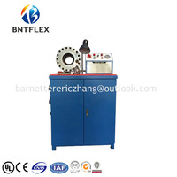 Wholesale high quality crimper hose machine with foot pedal and 10 sets of dies