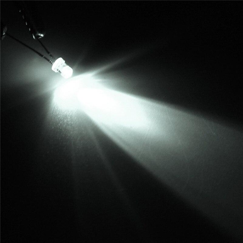 300pcs 10 value Five Colors 3mm Round Bright Light LED Diode Lamp Assortment kit