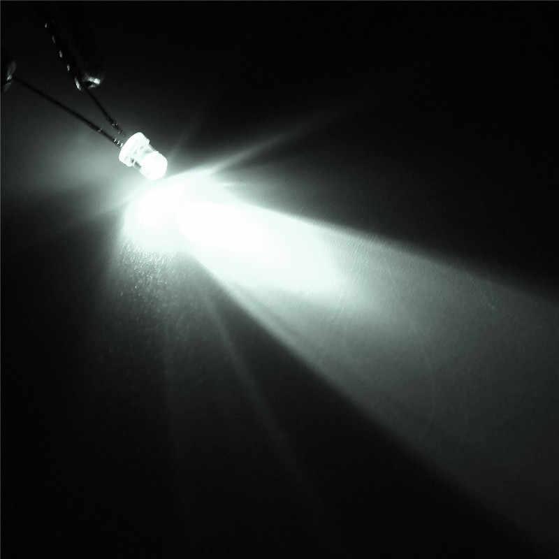 Nuovo Arrivo 300 pz Cinque Colori 3mm Rotondo Brillante Luce LED Lampada a Diodi Assortimento kit Rosso Conveniente per FAI DA TE diodi kit