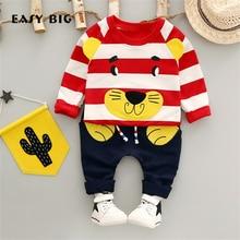EASY BIG 2017 Spring Autumn Boys Children's Sets Cottons Pants+T-shirts For Boys Kids Top Clothes Sets CC0132