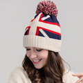 Winter New Arrival Women Knitted Hat Thermal Skiing Hat Girl Street Style Roll-Up Hem Skullies Beanies