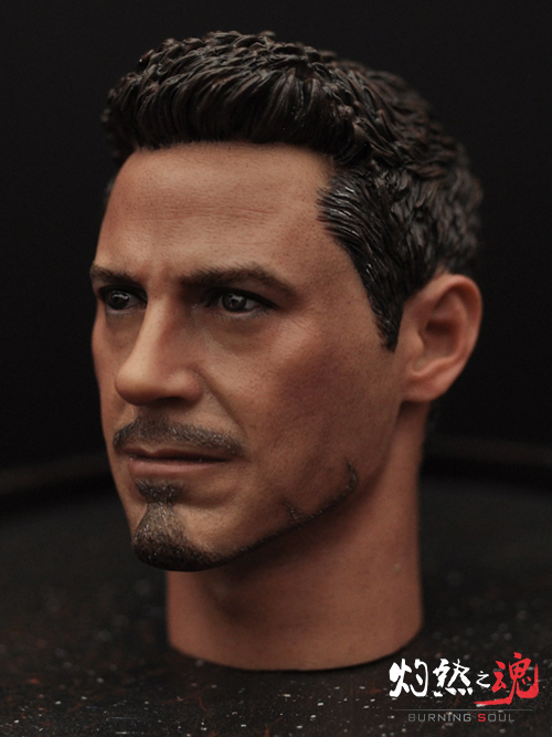 цены 1/6 scale figure Accessory Iron Man headsculpt Tony Stark head shape for 12