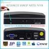 New 8CH & 4CH 2MP P2P NVR for IP Camera Support XMEye CMS ONVIF Cloud System H.264 P2P Onvif 1080P NVR Support eSATA/TF Video