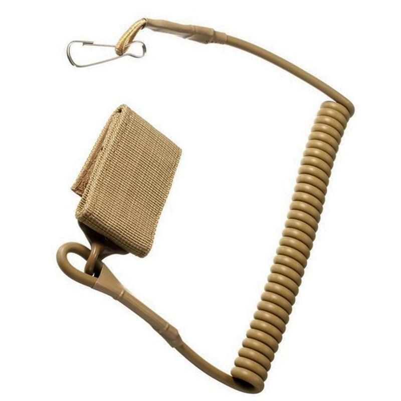 Taktično izvlečna plastična pomlad elastična vrv Varnostno orodje - Kampiranje in pohodništvo - Fotografija 1