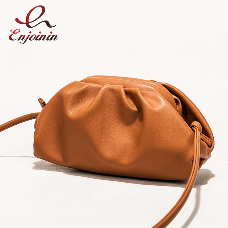 High Quality Simple Fashion Hobos Pu Leather Women Daily Clutch Bag Envelope Bag Crossbody Bag Female Pouch Handbag Bolsa Totes