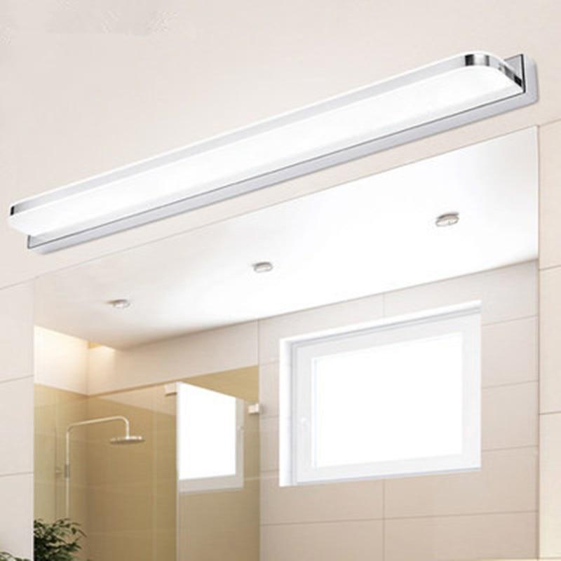 modern led bathroom lighting [DBF]Modern Acrylic LED Mirror Light 3W/9W/12W Bathroom Vanity Makeup LED Wall Lighting Fixtures