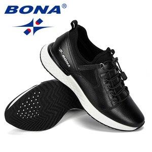 Image 4 - BONA 2019 nouveau populaire chaussures décontractées hommes en plein air baskets chaussures homme confortable à la mode hommes marche chaussures Tenis Feminino Zapatos