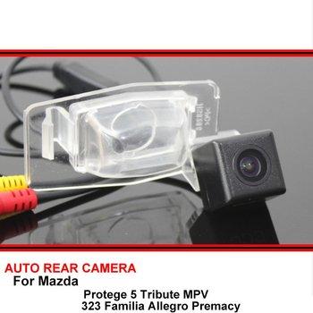 Para Mazda Protege 5 Tribute MPV 323 Familia Allegro Premacy visión nocturna coche reversa cámara de visión trasera para SONY HD