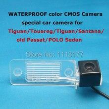 Cor CMOS Câmera Especial para VW Touareg, POLO (3 carruagens), Porsche Cayenne, Skoda Fabia,/Tiguan/Santana/old Passat/POLO Sedan