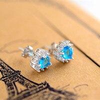 S925 Xin Wei sterling zilveren oorbellen oorbellen met Taobao oceaan hot blast klassieke zilveren sieraden allergie