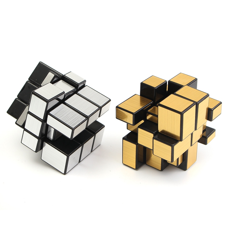 Funny 3x3x3 Mirror Magic Speed Cube Ultra smooth Professional Puzzle Twist Toy Gift Magic Cube Brain