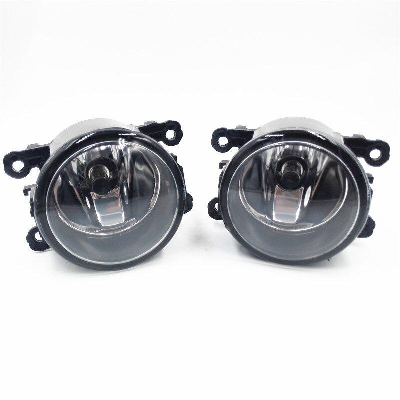 For NISSAN Navara D40 Pickup 2005-2012 Car styling Halogen fog lights fog lamps 12V 2 PCS for nissan tiida saloon sc11x 2006 2012 car styling fog lights halogen lamps 1set 26150 8990b
