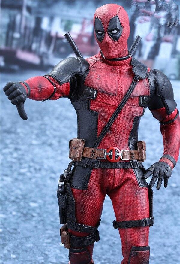 Figurines articulées articulées articulées BJD, jouets mobiles, compatibles Marvel x-men deadpool, 30cm, en tissu véritable, à offrir en cadeau