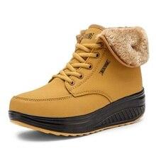 Новинка 2016 года женские вельветовые зимние сапоги зимние сапоги на платформе женская теплая обувь с хлопковой подкладкой ботильоны на плоской подошве