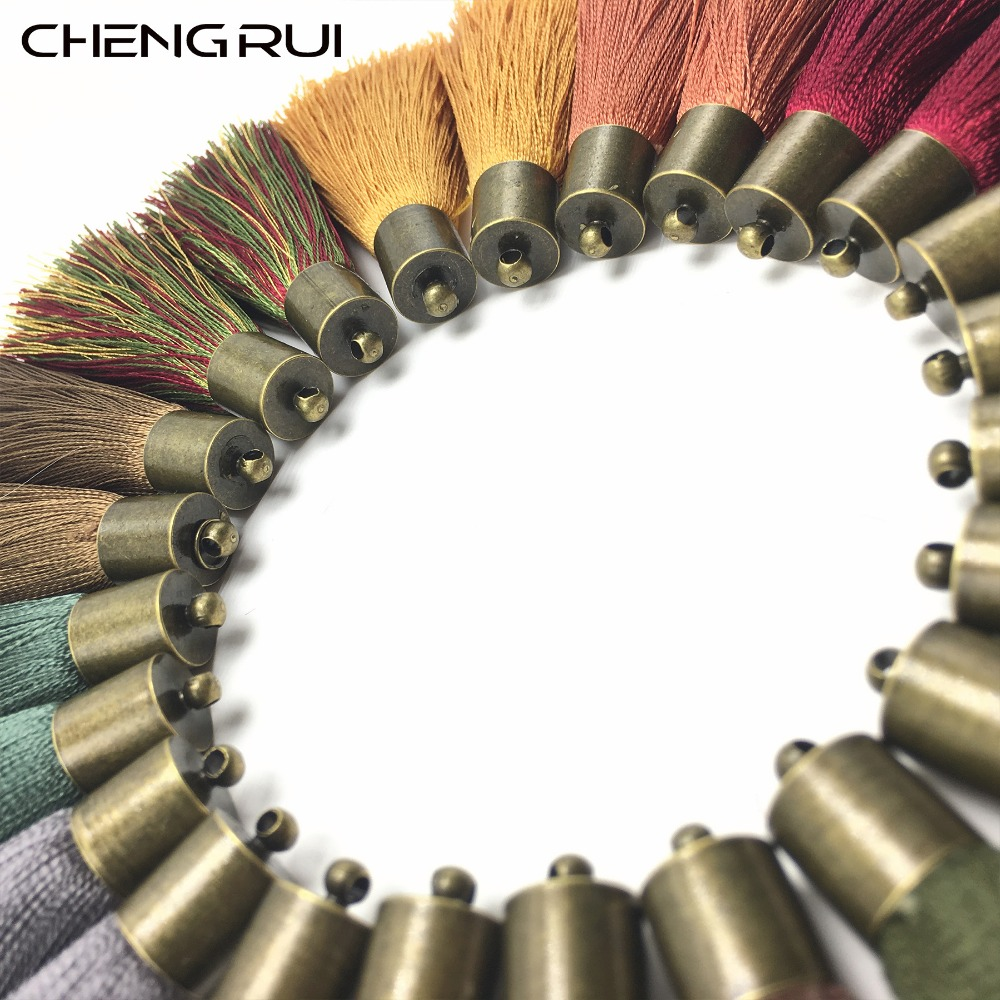 CHENGRUI L146,5cm,tassel,silk tassels,brush curtain,craft,fringe silk,earring findings,fringe curtain,shadow curtains,4pcs/bag