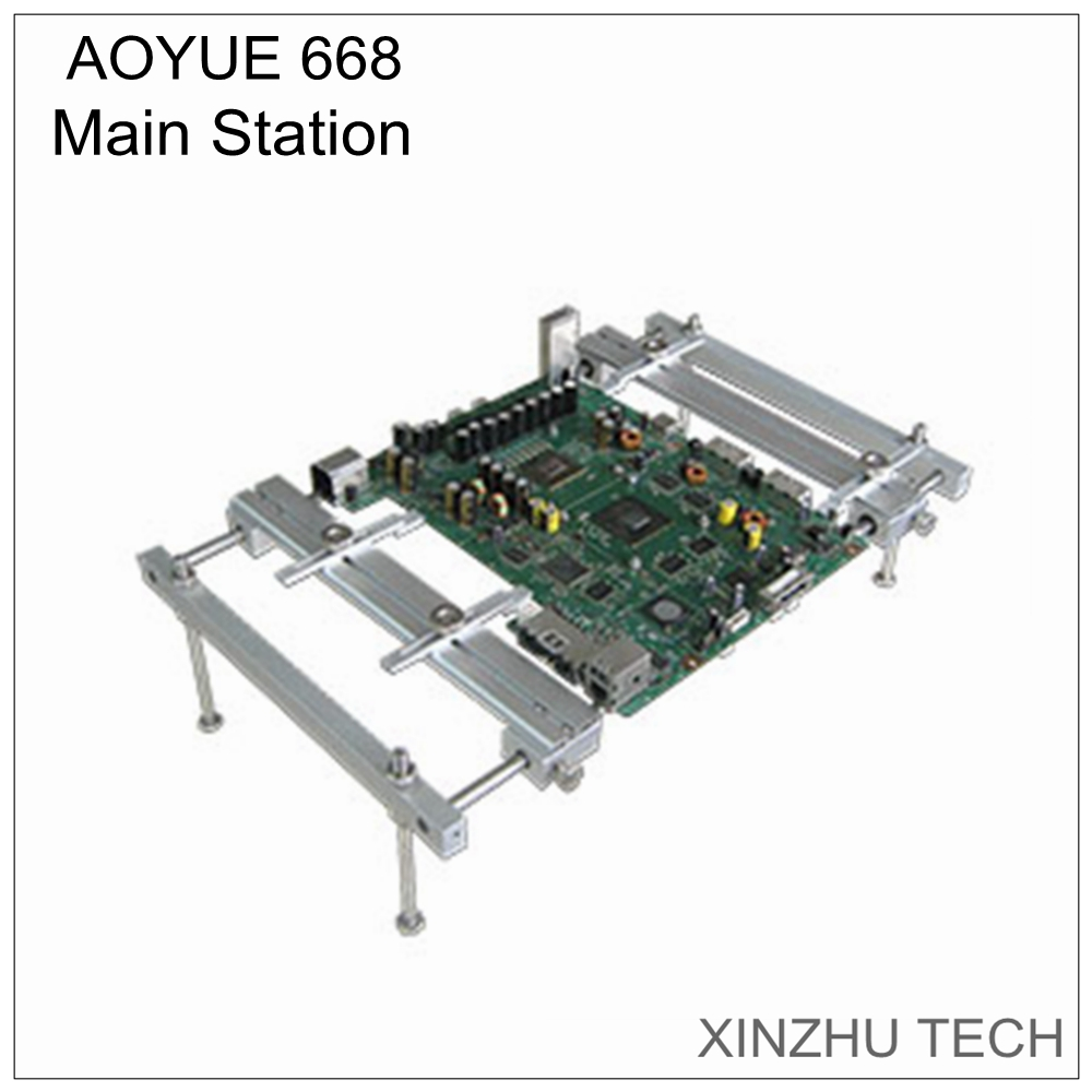 The new Aoyue 668 PCB bracket circuit board fixture frame motherboard mounting bracket fixture rework station partsThe new Aoyue 668 PCB bracket circuit board fixture frame motherboard mounting bracket fixture rework station parts