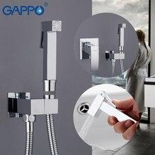 GAPPO Bidet Rubinetti in ottone toilette spray bianco e cromo doccia musulmano bidet rubinetto del bagno bidet miscelatore acqua bagno docce
