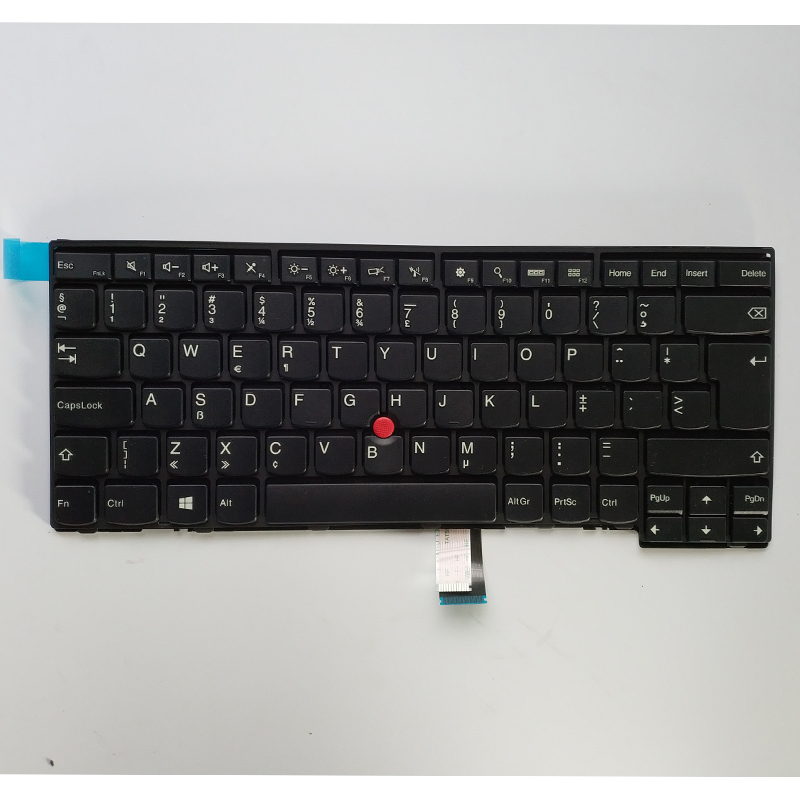 Original Laptop <font><b>Keyboard</b></font> for Lenovo IBM Thinkpad E431 T431S T440S T440P T440 E440 L440 <font><b>T460</b></font> EU Standard T440 T440S T450 <font><b>Keyboard</b></font> image