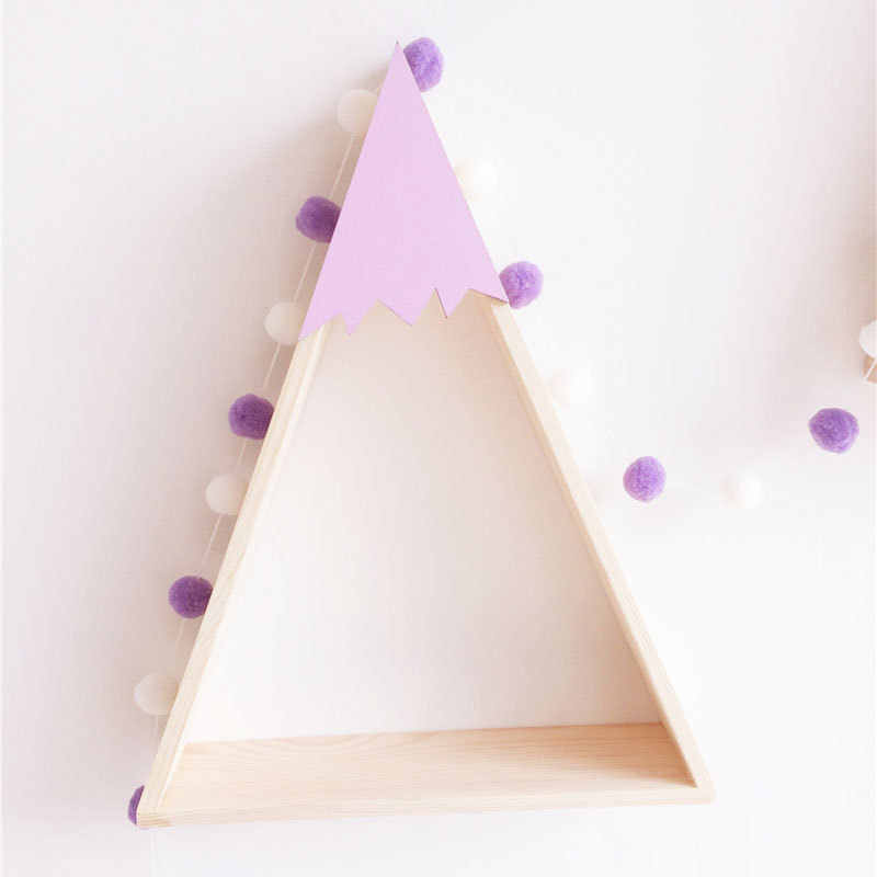 1.5M DIY INS Nordic Cartoon Macaron Felt Ball Newborn Baby Room Decoration Bedding Bumpers Kids Party Flags Girls