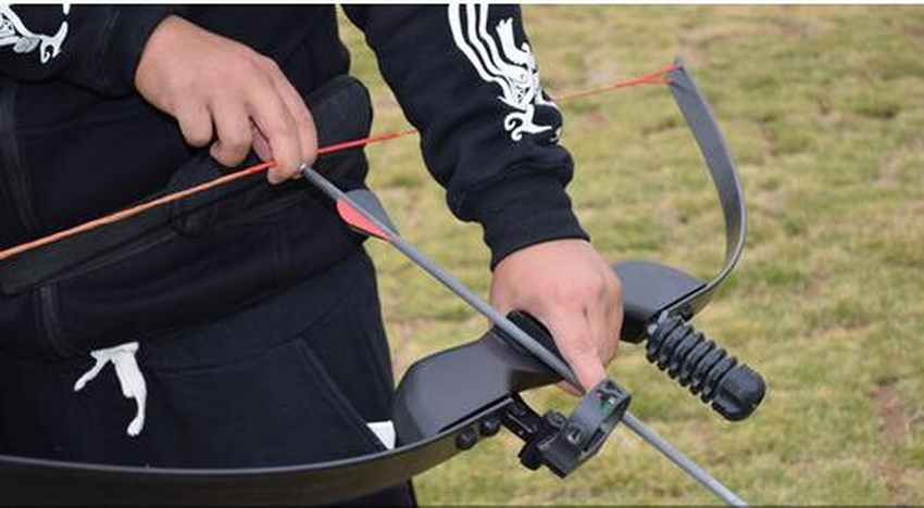 Outdoor Hunting Bow Sports Match Shooting Bow, Imitation Of The United States Hunting Straight Bow. hunting bow