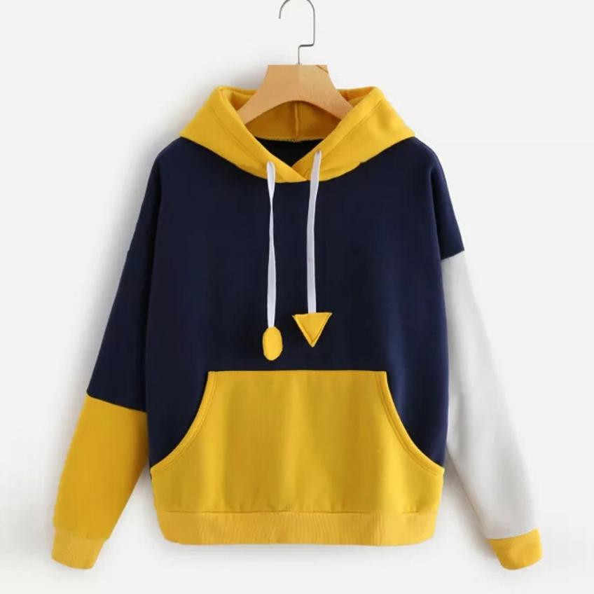 2019 New Autumn Winter Womens Hoodie Sweatshirt Long Sleeve Jumper Hooded Pullover Tops Female Jumper Women Tracksuits